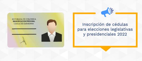 Inscripción de cédulas para elecciones legislativas y presidenciales 2022 en el Consulado de Colombia en Toronto
